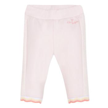 Textil Dívčí Kapsáčové kalhoty Lili Gaufrette NOLIS Růžová