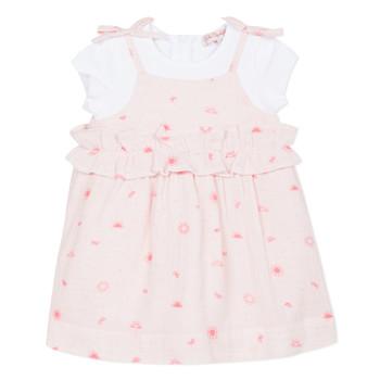 Textil Dívčí Krátké šaty Lili Gaufrette NAZETTE Růžová