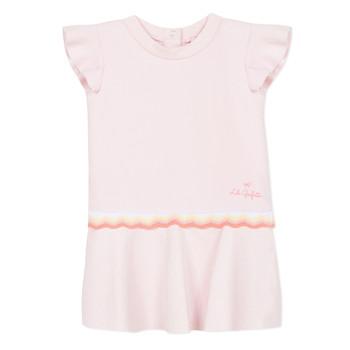 Textil Dívčí Krátké šaty Lili Gaufrette NARITTE Růžová