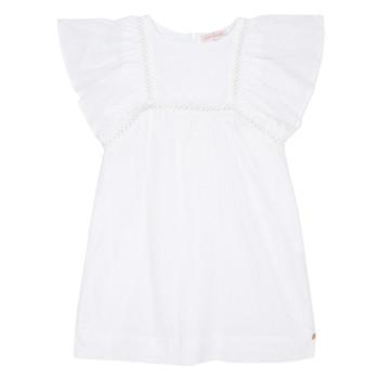 Textil Dívčí Krátké šaty Lili Gaufrette MELINA Bílá