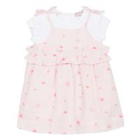 Textil Dívčí Krátké šaty Lili Gaufrette SAMANTA Růžová