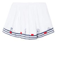 Textil Dívčí Sukně Lili Gaufrette MAYA Bílá