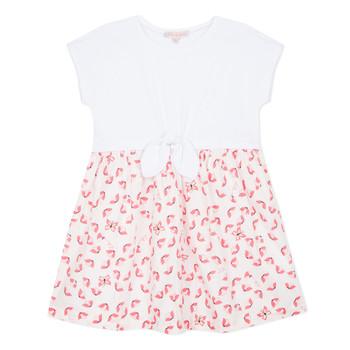 Textil Dívčí Krátké šaty Lili Gaufrette CAYDEN Bílá
