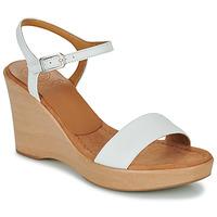 Boty Ženy Sandály Unisa RITA Bílá