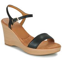 Boty Ženy Sandály Unisa RITA Černá
