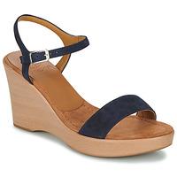 Boty Ženy Sandály Unisa RITA Tmavě modrá