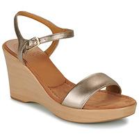 Boty Ženy Sandály Unisa RITA Stříbrná