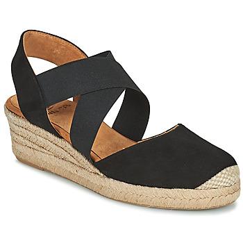 Boty Ženy Sandály Unisa CELE Černá