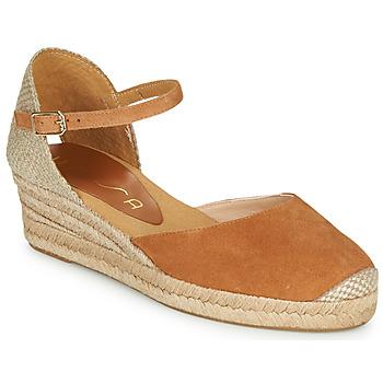 Boty Ženy Sandály Unisa CISCA Velbloudí hnědá