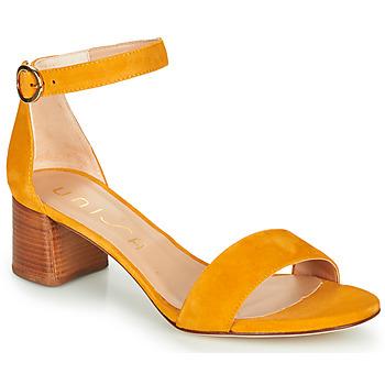 Boty Ženy Sandály Unisa GELETE Žlutá
