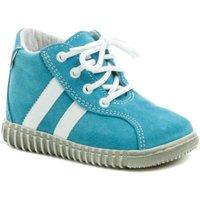 Boty Chlapecké Kotníkové boty Pegres 1095 modré dětské botičky Modrá