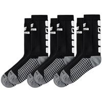 Doplňky  Děti Ponožky Erima Lot de 3 paires de chaussettes  Classic 5-C noir/blanc