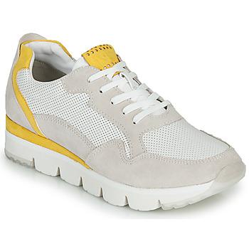 Boty Ženy Nízké tenisky Marco Tozzi 2-23754 Bílá / Žlutá