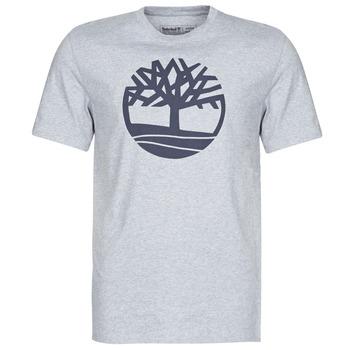 Textil Muži Trička s krátkým rukávem Timberland SS KENNEBEC RIVER BRAND TREE TEE Šedá