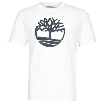 Textil Muži Trička s krátkým rukávem Timberland SS KENNEBEC RIVER BRAND TREE TEE Bílá