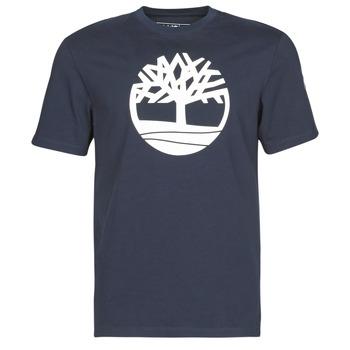 Textil Muži Trička s krátkým rukávem Timberland SS KENNEBEC RIVER BRAND TREE TEE Tmavě modrá