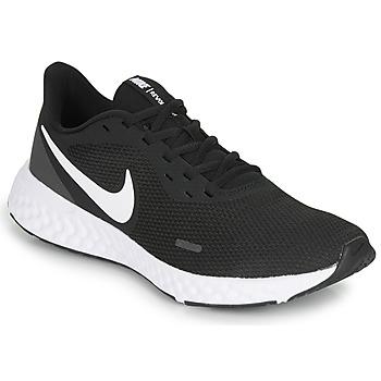 Boty Muži Běžecké / Krosové boty Nike REVOLUTION 5 Černá / Bílá