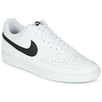 Boty Muži Nízké tenisky Nike COURT VISION LOW Bílá / Černá