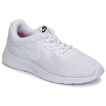 Boty Ženy Nízké tenisky Nike TANJUN Bílá