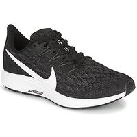 Boty Ženy Běžecké / Krosové boty Nike ZOOM PEGASUS 36 Černá / Bílá