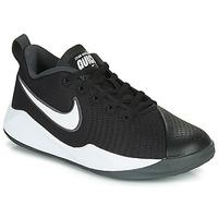 Boty Děti Multifunkční sportovní obuv Nike TEAM HUSTLE QUICK 2 GS Černá / Bílá