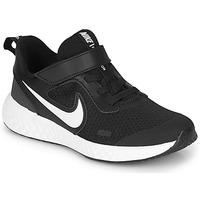 Boty Děti Multifunkční sportovní obuv Nike REVOLUTION 5 PS Černá / Bílá