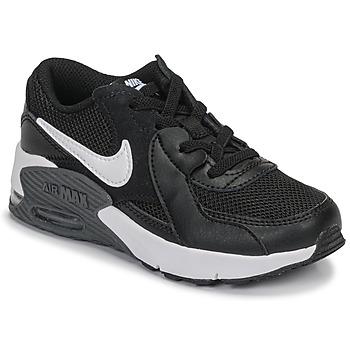 Boty Děti Nízké tenisky Nike AIR MAX EXCEE PS Černá / Bílá
