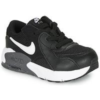 Boty Děti Nízké tenisky Nike AIR MAX EXCEE TD Černá / Bílá