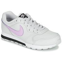 Boty Dívčí Nízké tenisky Nike MD RUNNER GS Bílá / Růžová