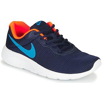 Boty Chlapecké Nízké tenisky Nike TANJUN GS Modrá