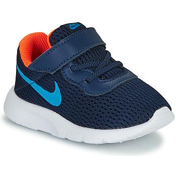 Boty Chlapecké Nízké tenisky Nike TANJUN TD Modrá