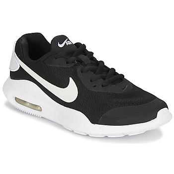 Boty Děti Nízké tenisky Nike AIR MAX OKETO GS Černá / Bílá