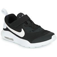 Boty Děti Nízké tenisky Nike AIR MAX OKETO PS Černá / Bílá