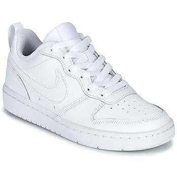Boty Děti Nízké tenisky Nike COURT BOROUGH LOW 2 GS Bílá