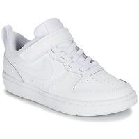 Boty Děti Nízké tenisky Nike COURT BOROUGH LOW 2 PS Bílá