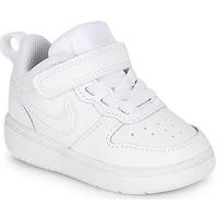 Boty Děti Nízké tenisky Nike COURT BOROUGH LOW 2 TD Bílá
