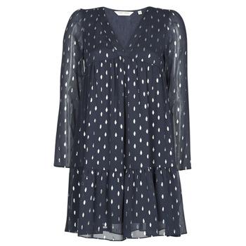 Textil Ženy Krátké šaty Naf Naf FOIL Tmavě modrá