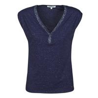 Textil Ženy Trička s krátkým rukávem Morgan DMAYA Tmavě modrá
