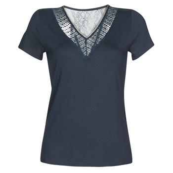 Textil Ženy Trička s krátkým rukávem Morgan DOHAN Tmavě modrá