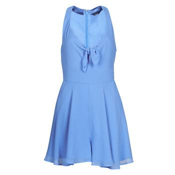 Textil Ženy Overaly / Kalhoty s laclem Marciano HORIZON ROMPER Modrá