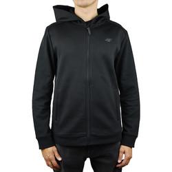 Textil Muži Mikiny 4F Men Hoodie X4Z18-BLM201BLK
