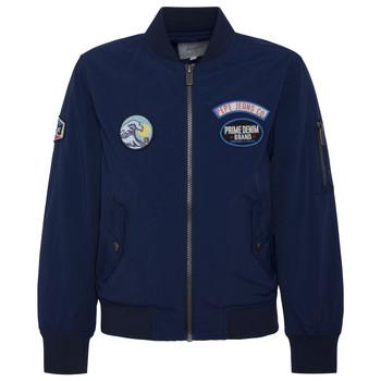 Textil Chlapecké Bundy Pepe jeans HAWTHORN Tmavě modrá