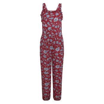 Textil Dívčí Overaly / Kalhoty s laclem Pepe jeans SOFIA Červená