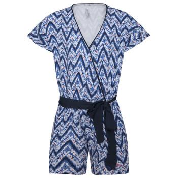 Textil Dívčí Overaly / Kalhoty s laclem Pepe jeans CLEA Modrá