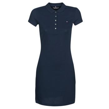Textil Ženy Krátké šaty Tommy Hilfiger HERITAGE SLIM POLO DRS Tmavě modrá