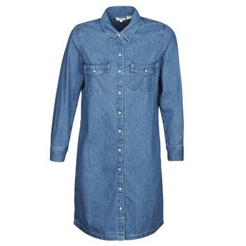 Textil Ženy Krátké šaty Levi's SELMA DRESS Modrá