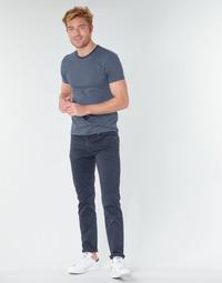 Textil Muži Kapsáčové kalhoty Levi's 511™ SLIM FIT Tmavě modrá