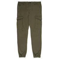 Textil Chlapecké Cargo trousers  Jack & Jones JJIPAUL Khaki