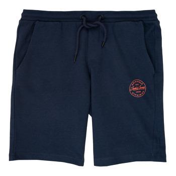 Textil Chlapecké Kraťasy / Bermudy Jack & Jones JJISHARK Tmavě modrá