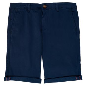 Textil Chlapecké Kraťasy / Bermudy Jack & Jones JJIBOWIE Tmavě modrá